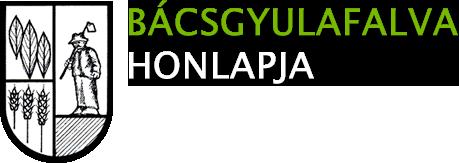 Bácsgyulafalva honlapja